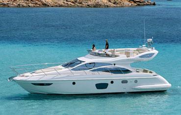 Alquiler yate en Ibiza Azimut 47