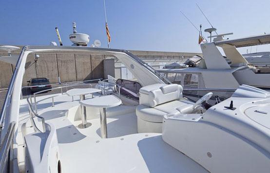 Alquiler yate en Ibiza Azimut 50