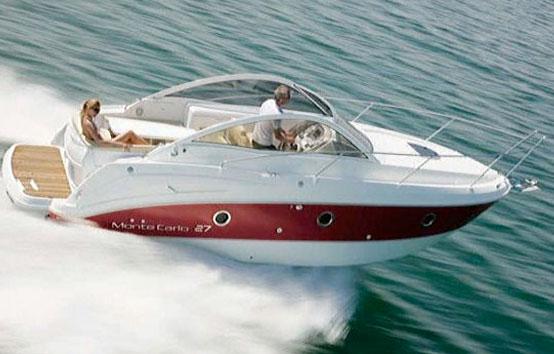 Ibiza motorboat charter montecarlo 27