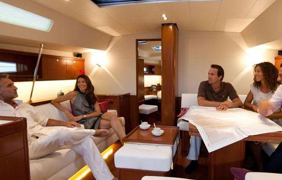 Ibiza Sailboat charter Oceanis 58