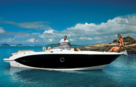 Ibiza motorboat charter Sessa key largo 27
