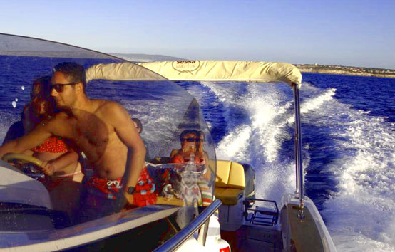 Ibiza motorboat charter Sessa key largo 30