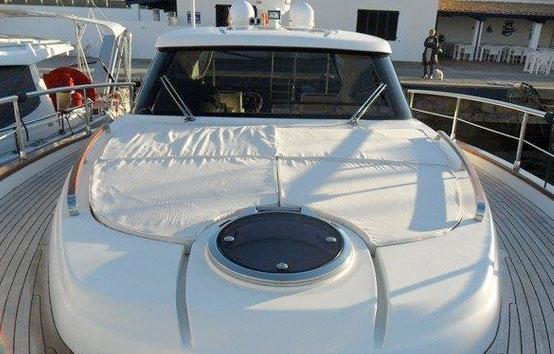 Ibiza yacht charter Austin Parker