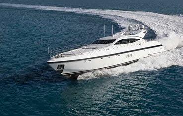 Ibiza yachts charter Mangusta 108