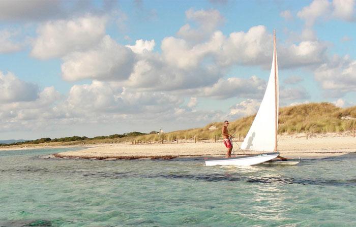 Ibiza sailing catamaran