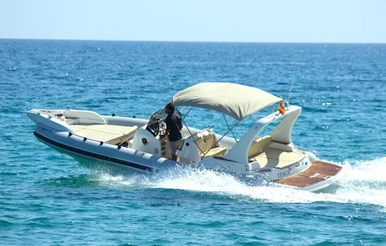Ibiza Zodiac Charter Marlin 26' ITACA