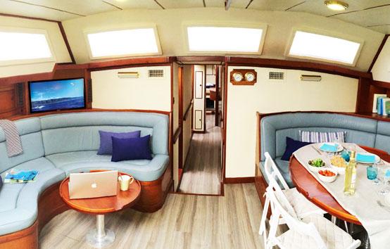 Alquiler velero en Ibiza o Formentera Voyager