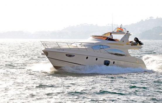 Ibiza and Formentera Yachts charter Azimut 68
