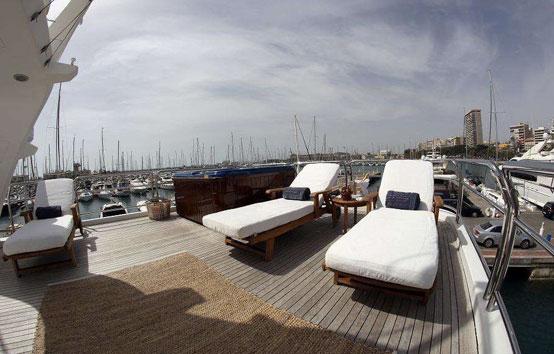 Alquiler de Yate de lujo en Ibiza Benetti 30