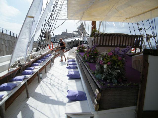 Bodas en Ibiza en Barco