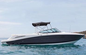 Alquiler lancha Sea Ray Ibiza