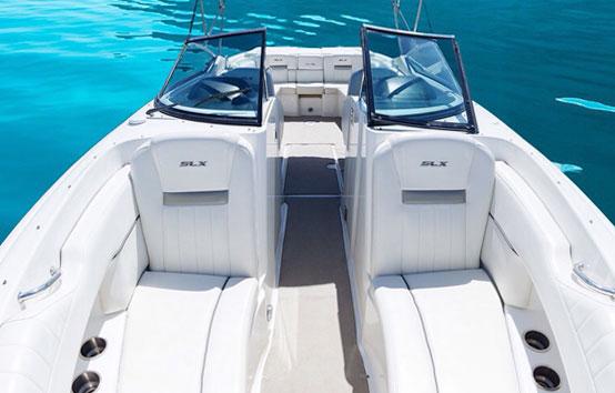 Ibiza motorboat charter Sea Ray 270 slx
