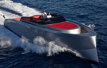 Motorboat charter in Ibiza Vanquish VQ43 Ibiza