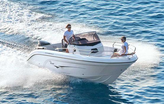 Ibiza Yacht charter Ranieri Voyager 21s