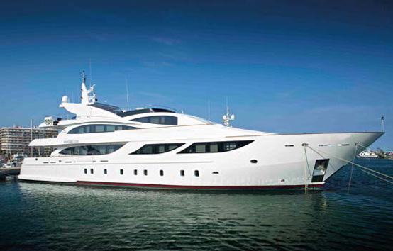 Yacht charter on Ibiza and Formentera Oassive 138