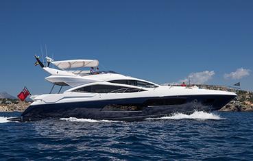 Yacht charter Ibiza Sunseeker