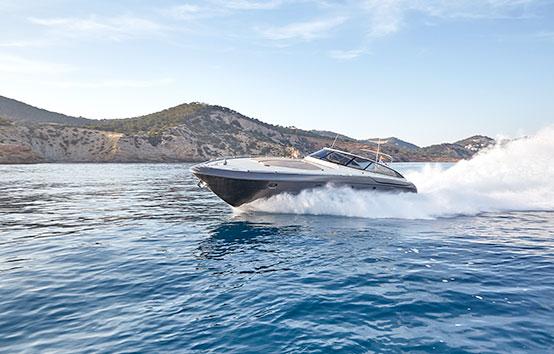 Alquiler de yate en Ibiza Baia Aqua 54