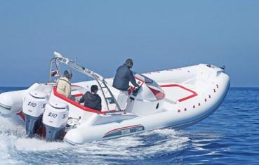 Ibiza zodiac charter Selva s900