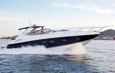 Yacht charter on Ibiza Sunseeker Portofino 46