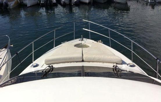 Alquiler de yate en Ibiza Azimut 42 fly