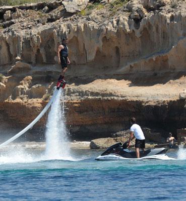Alquiler de fly surfing en Ibiza