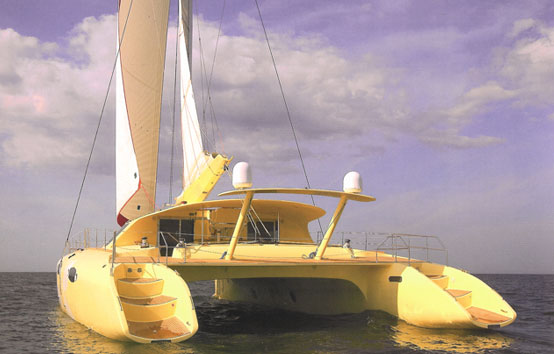 Seven cabins catamaran rental in Ibiza