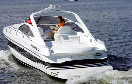 Ibiza charter Pershing 37 Marina Botafoch