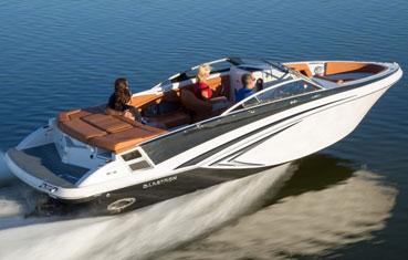 Ibiza bare boat rental Glastron 245 gt