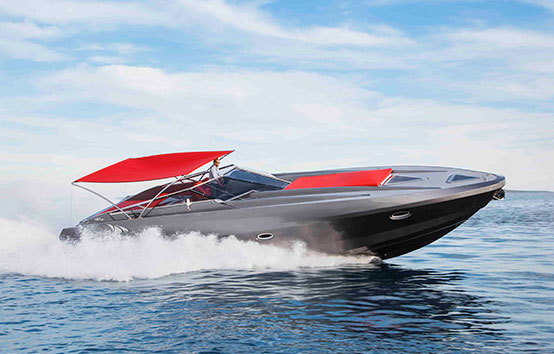 Ibiza motorboat charter Stealth 50