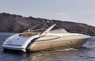 Ibiza Speedboat charter Sunseeker Superhawk 48