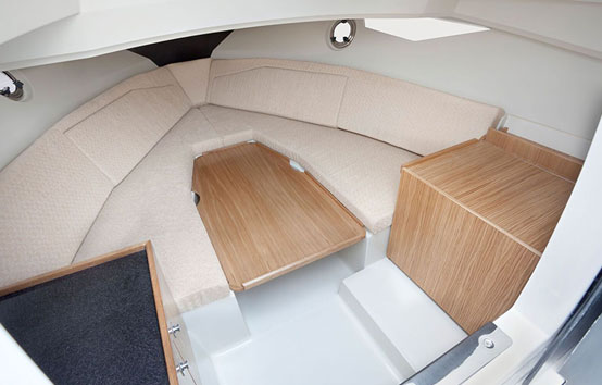 Ibiza motorboat charter Galia 700