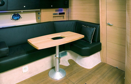 Ibiza motor boat charter Cranchi 43 Salon