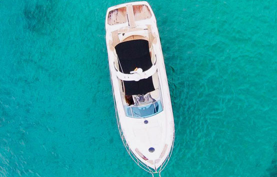 Ibiza motor boat charter Cranchi 43 Cabin