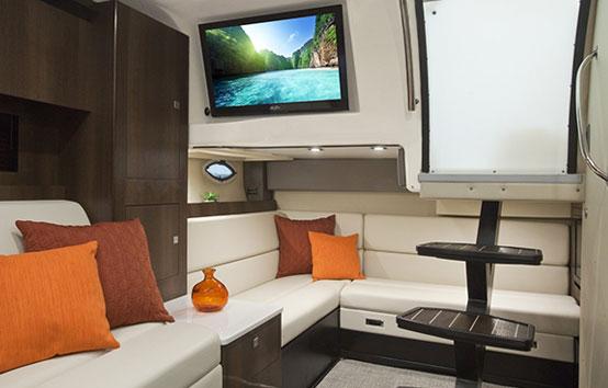 Ibiza motorboat charter Monterey 355