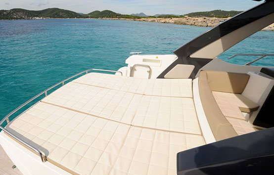 Ibiza motorboat charter Absolute 40