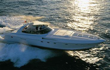 Ibiza motorboats rentals Rizzardi 50