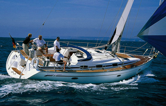 Ibiza sailboat charter Bavaria 42