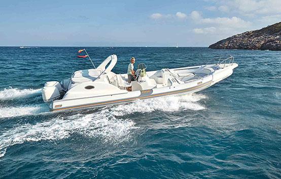 Ibiza zodiac charter Bat Rib 35