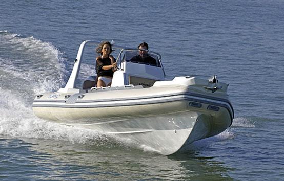 Ibiza zodiac charter Lomac 710