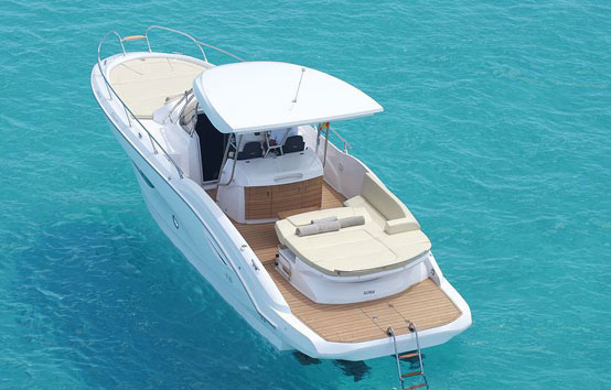 Ibiza motorboat charter Sessa Key Largo 34