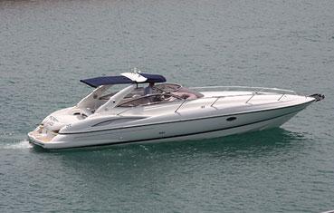 Yacht Charter Ibiza Sunseeker Superhawk 34