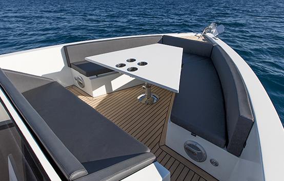De Antonio d33 Ibiza motor boat charter