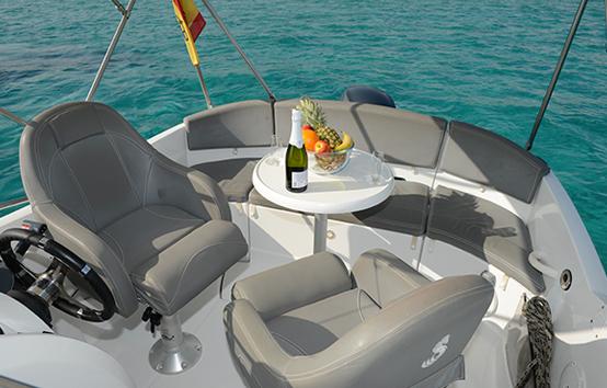 Ibiza bareboat rentals Beneteau Flyer 550
