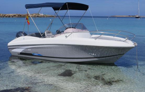 Ibiza bareboat hire Beneteau Flyer 650