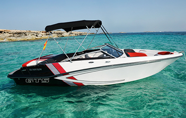 Ibiza bareboat rentals glastron 205 gts