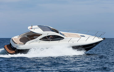 Ibiza motorboat charter Primatist G41 Abbate
