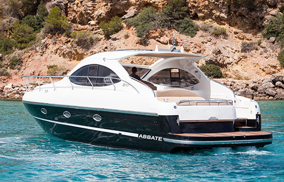 Ibiza boats on charter Primatist G41 Abbate