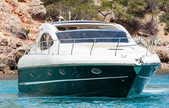 Ibiza boat charter Primatist G41 Abbate