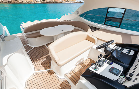 Ibiza hired boat charter Primatist G41 Abbate