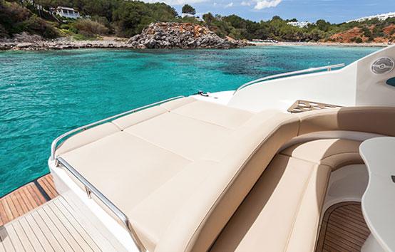 Ibiza deck solarium. Primatist G41 Abbate